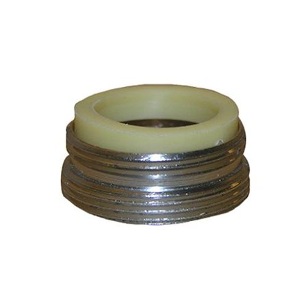 Larsen Supply 09-1631NL Aerator Adapter Fits Kohler & Central, Chrome-Plated, 13/16 x 27 Male Thread x 55/64-In. x 27 Ma