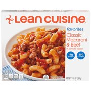 LEAN CUISINE FAVORITES Classic Macaroni & Beef 9.5 oz. Box