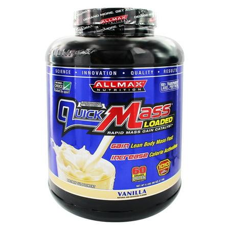 Image of AllMax Nutrition - QuickMass Loaded Vanilla - 6 lbs.