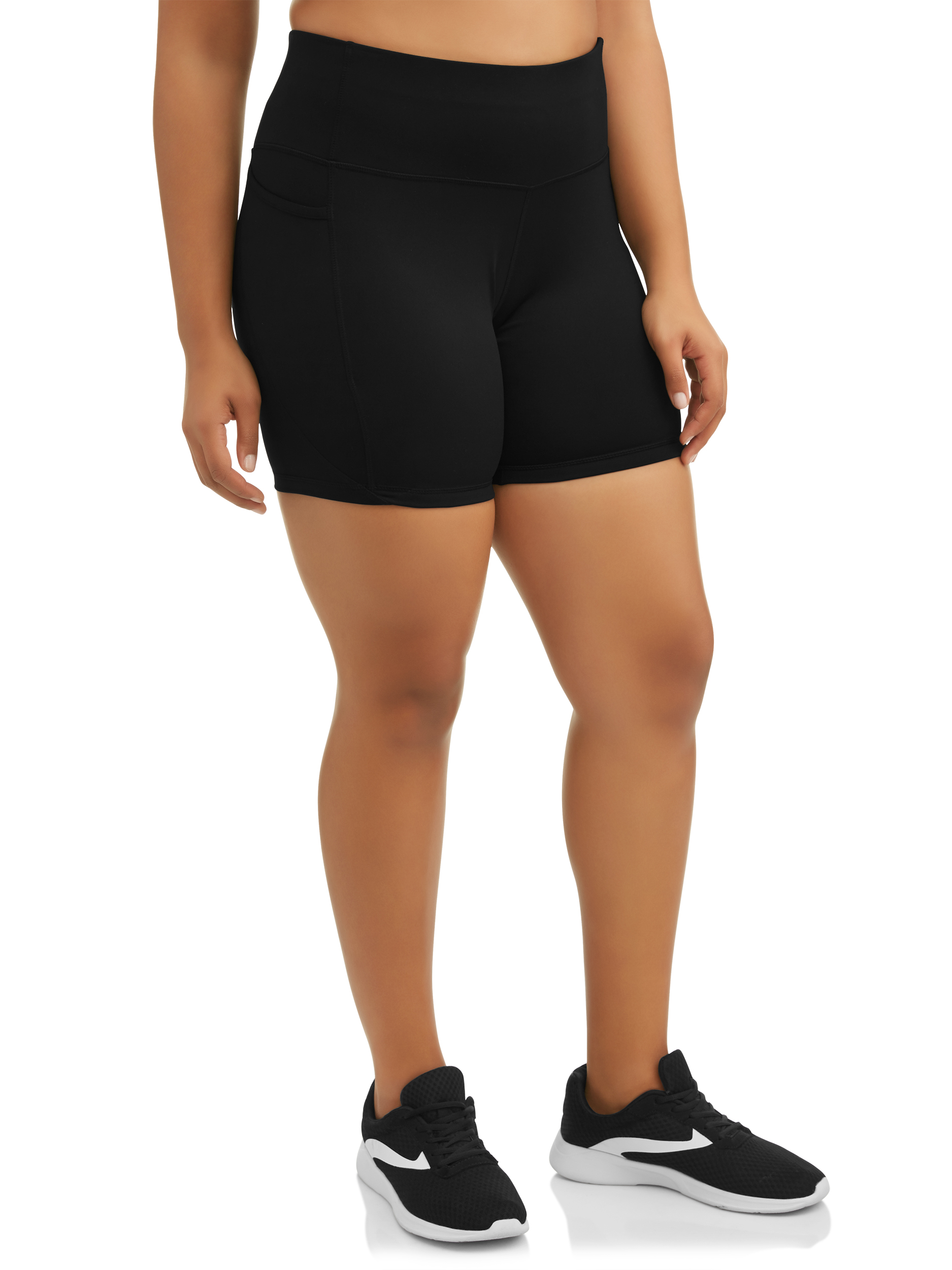 "Women's Plus Size Avia 7"" Bike Short"