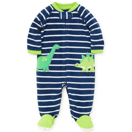 9502695e92f7 LTM Baby - Baby Pajamas Warm Fleece Sleepers Footed Blanket Sleeper ...