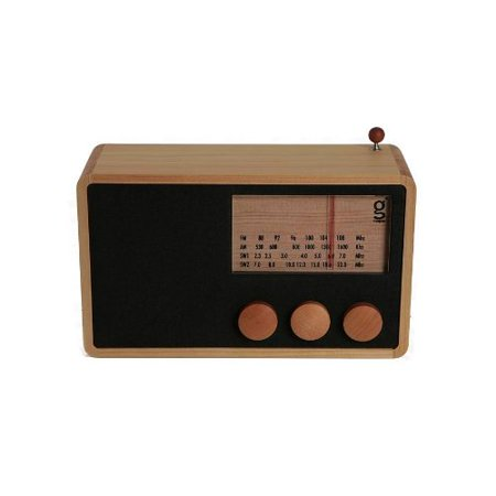Sangean WR11 WOOD CABINET AM/FM TABLE TOP RADIO ()