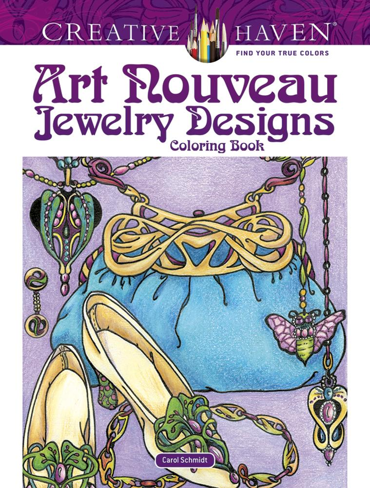 - Creative Haven Coloring Books: Creative Haven Art Nouveau Jewelry Designs  Coloring Book (Paperback) - Walmart.com - Walmart.com