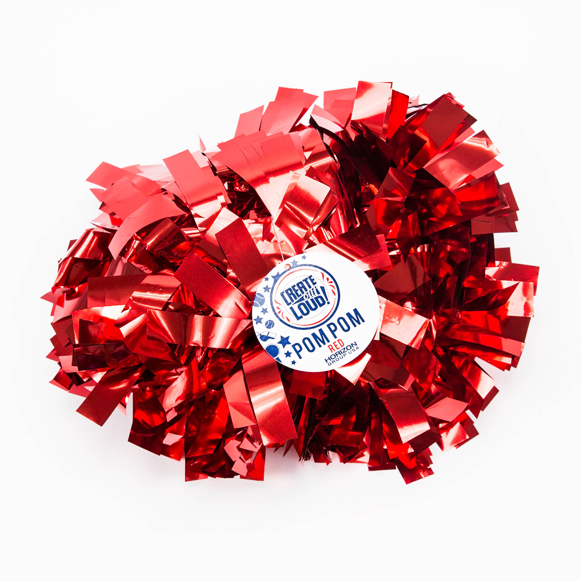Create Out Loud Red Pom Pom by Horizon Group USA