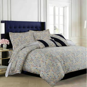 Tribeca Living Fiji 5 Piece Duvet Cover Set