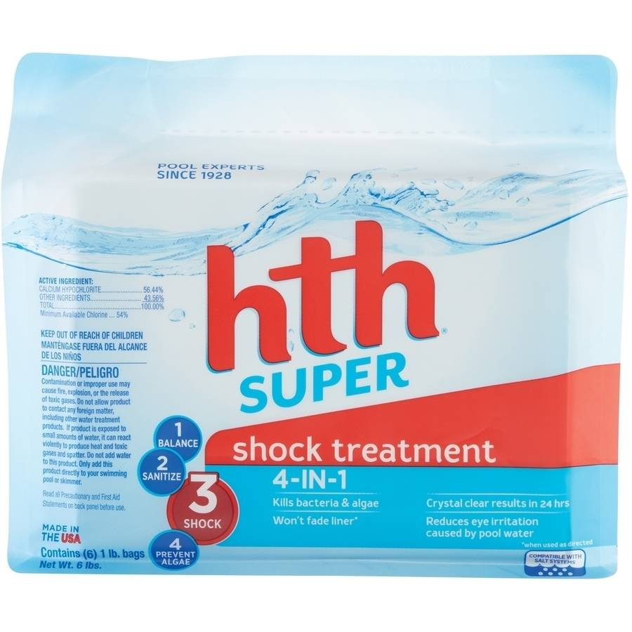 hth Super Shock Treatment 4-IN-1 6x1lb