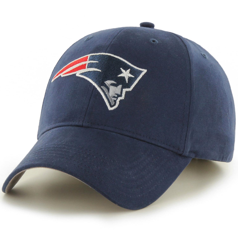 Men's Fan Favorite Navy New England Patriots Mass Basic Adjustable Hat - OSFA