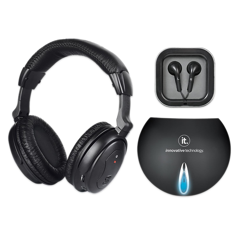 Innovative Technology Wireless Tv Listening Headphones Walmartcom