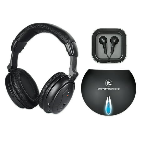 Innovative Technology Wireless Tv Listening Headphones