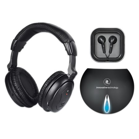 how to connect 5 in 1 wireless headphones to tv