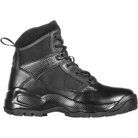 5.11 Tactical Women's A.T.A.C. 2.0 6-Inch Side Zip Military Combat Boots, Style 12404, Black, 6.5 Regular thumbnail