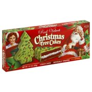 Little Debbie Red Velvet Christmas Tree Cakes, 5 ct, 7.91 oz