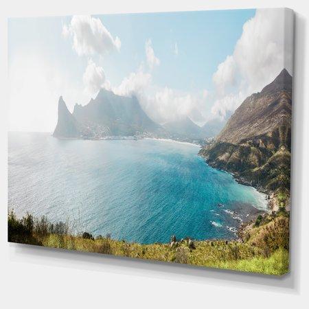 Hout Bay from Chapman Peak - Seashore Photo Canvas Art Print - image 2 of 4