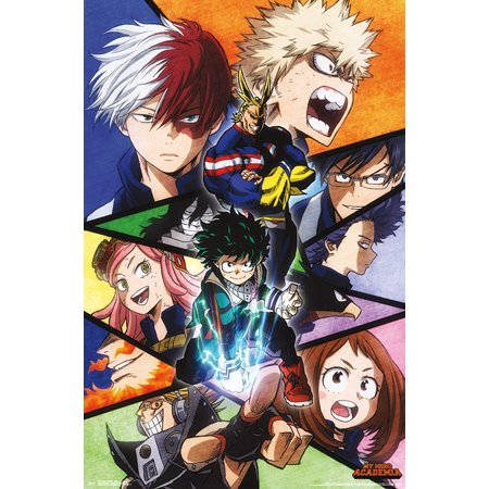 My Hero Academia - Faces (Which Frame Suits My Face)