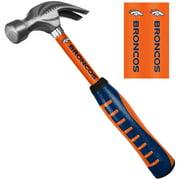 Sainty 08310 Denver Broncos 16-Ounce Steel Hammer