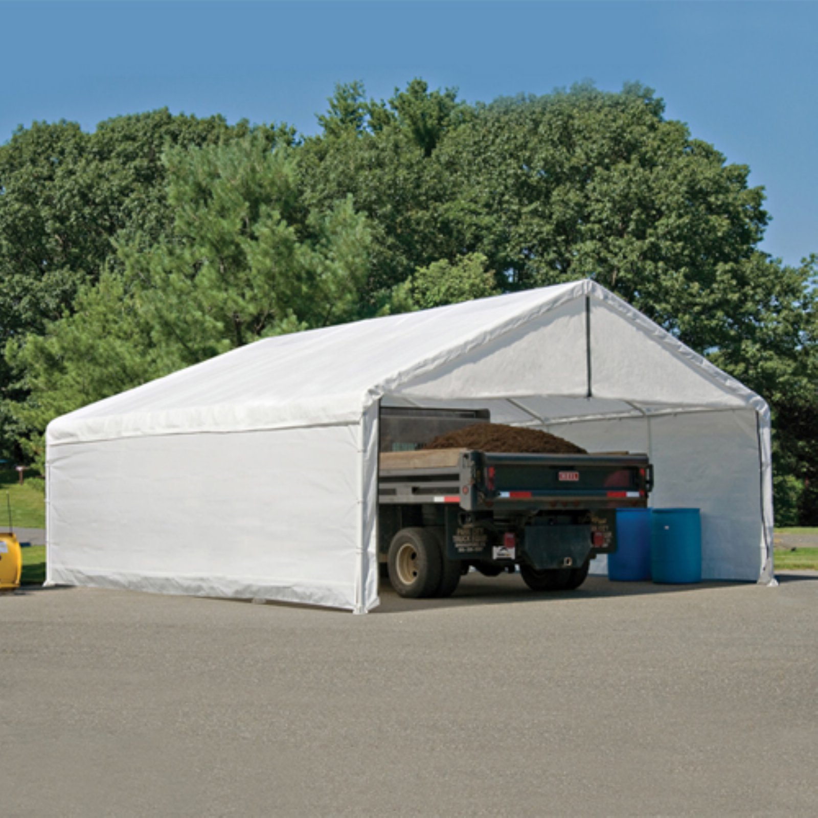 1830 White Canopy Enclosure Kit FR Rated : canopy enclosure - memphite.com