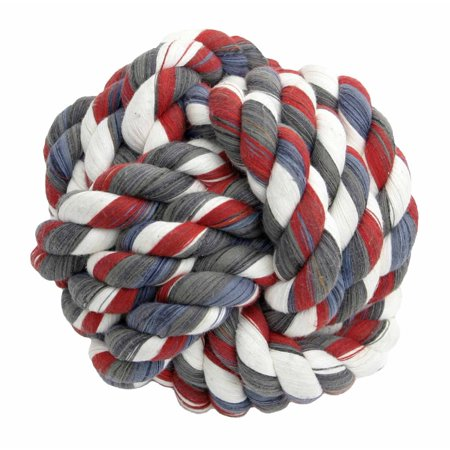 - MAMMOTH MINI 2.5 INCH MONKEY FIST ROPE BALL TOY