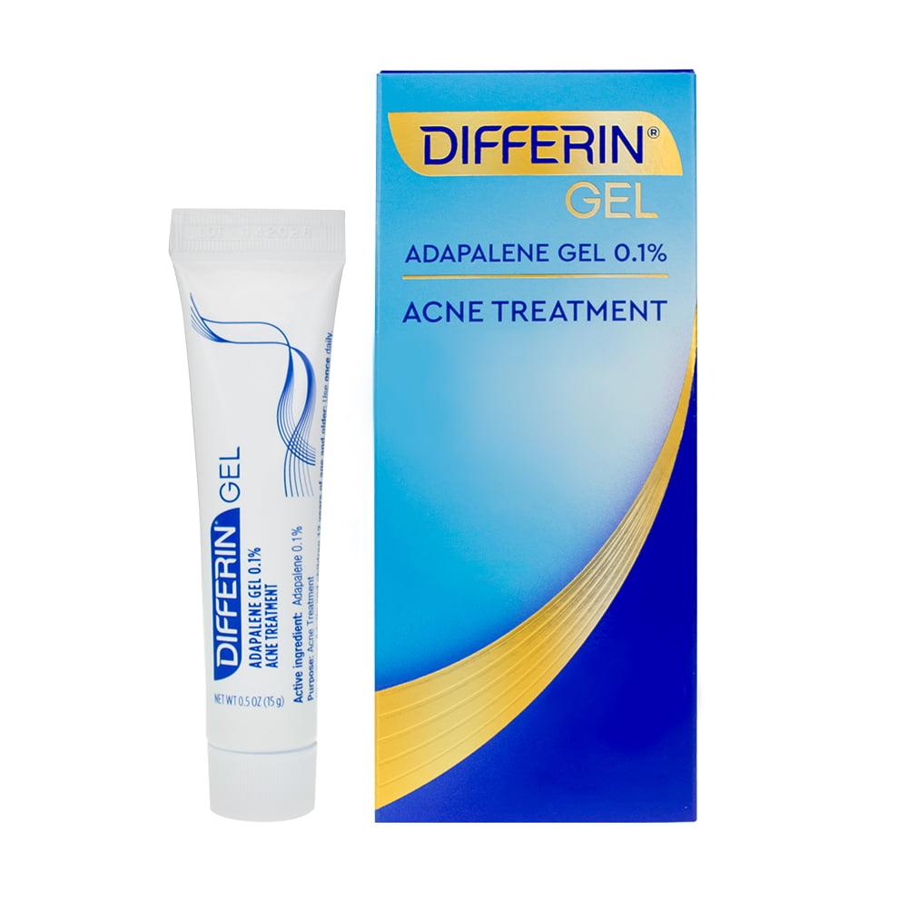 Differin 0 1 Adapalene Acne Treatment Gel 0 5 Oz 15g Walmart