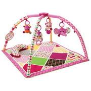 Infantino See Play Go Sweet Safari Twist & Fold Activity Gym & Play Mat