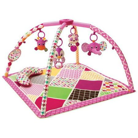 Infantino See Play Go Sweet Safari Twist & Fold Activity Gym & Play
