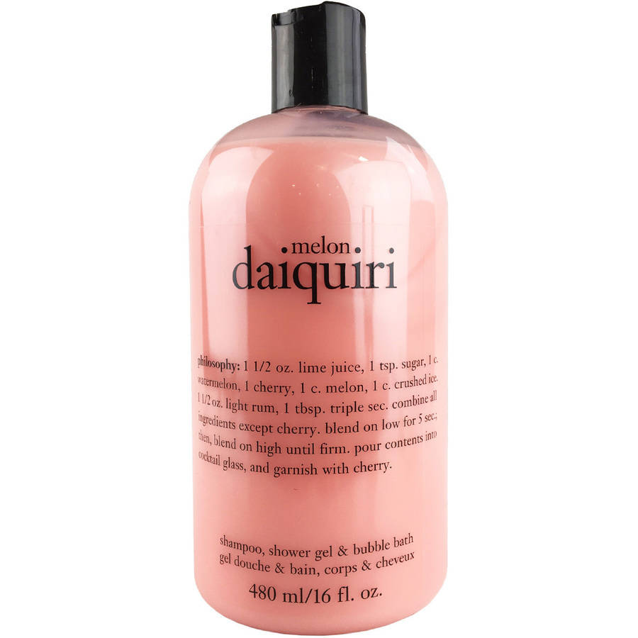 philosophy melon daiquiri shampoo shower gel amp bubble philosophy 16 ounce vanilla birthday cake shampoo shower