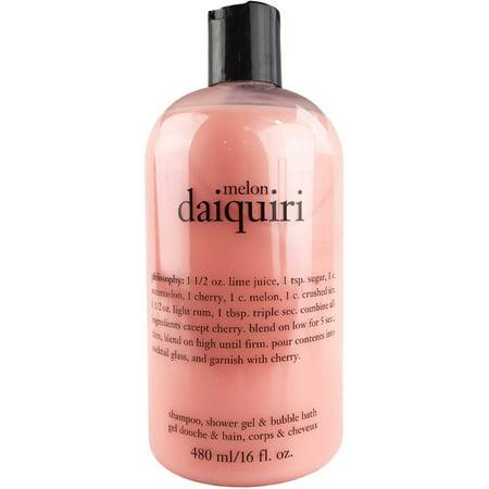 Melon Daiquiri Shampooing Gel Douche -amp- Bain moussant 16 fl oz