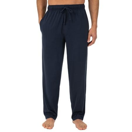 Fruit of the Loom Men's Jersey Knit Sleep Pant ()