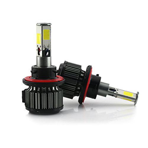 H13 120W 12000LM CREE LED Headlight High/Low Beam Fog DRL Conversion Kit Light Bulbs 6000K White  (H13)