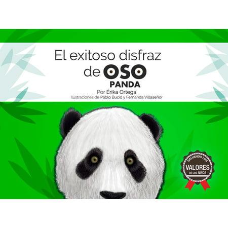 El exitoso disfraz de oso panda - eBook - Brujas Disfraz Halloween