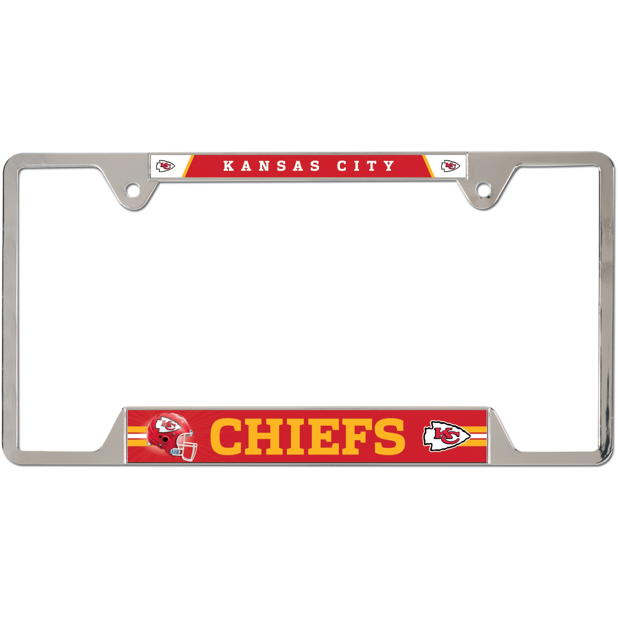 Official Licensed NHL Minnesota Wilf Chrome Licence Plate Frame Car Truck SUV