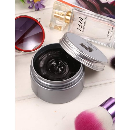 New Temporary 8 Colors Hair Wax, Easy Washable Instant Hairstyle Dyeing Mud Cream Hair Pomades for Party, Cosplay, Nightclub, Masquerade, Halloween,Suits All Hair Types without harmful - Masquerade Suits
