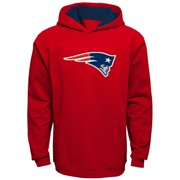 New England Patriots Youth Fan Gear Prime Pullover Hoodie - Red
