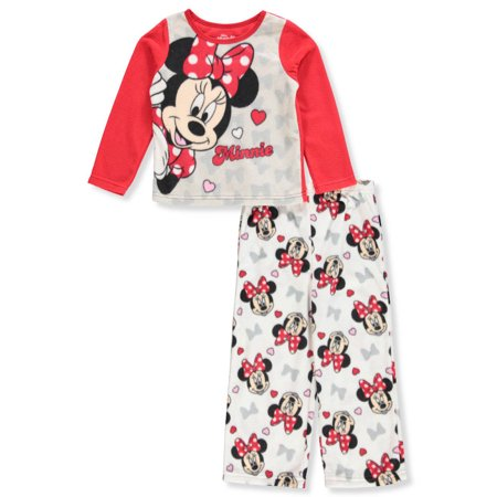 Disney Minnie Mouse Girls' 2-Piece Pajamas - Minnie Mouse Outfit For Women