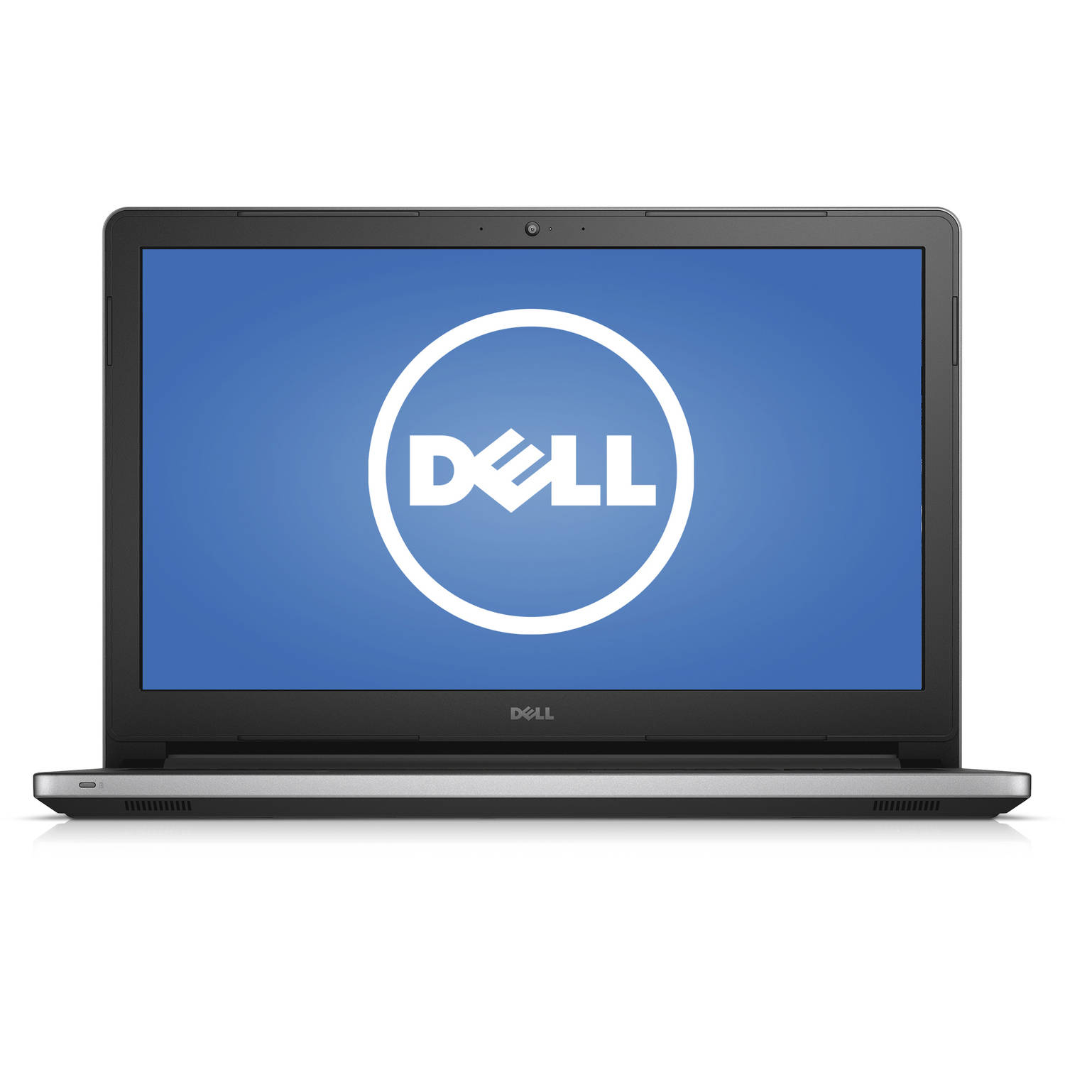 "Dell Silver 15.6"" Inspiron 15 5000 Series (5555) Laptop PC with AMD A10-8700P Processor, 12GB Memory, 1TB Hard Drive and Windows 10 Home"