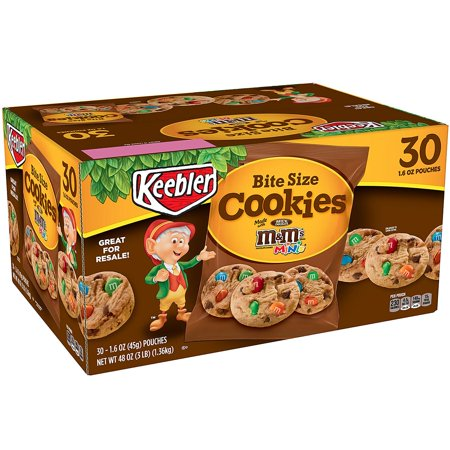 M&M Cookies, 3 Pound, Bite-size cookies with M&M's By Keebler