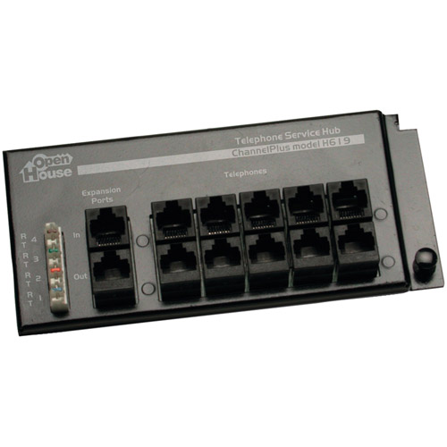 Linear H619 4 x 12 RJ-45 Telephone Interface Hub