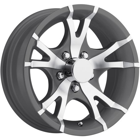 "13"" TRAILER STOCK UTILITY 5 LUG 5 SPOKE ALUMINUM WHEEL RIM T07-35545GM"