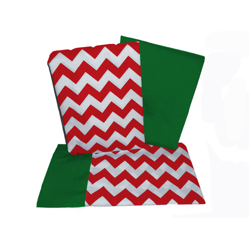 Baby Doll Bedding Chevron 3 Piece Crib and Toddler Sheet Set