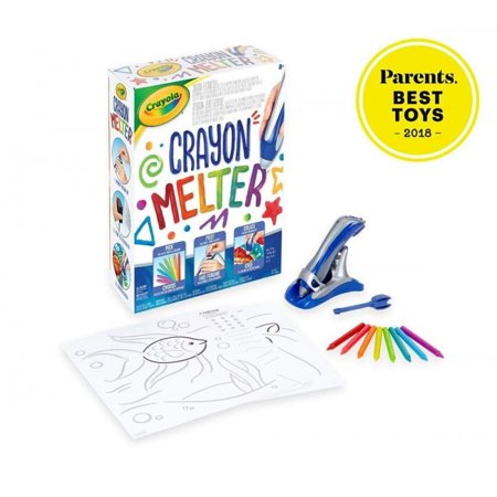 Crayola Crayon Melter Kit with Crayons (From Wax To Crayon)