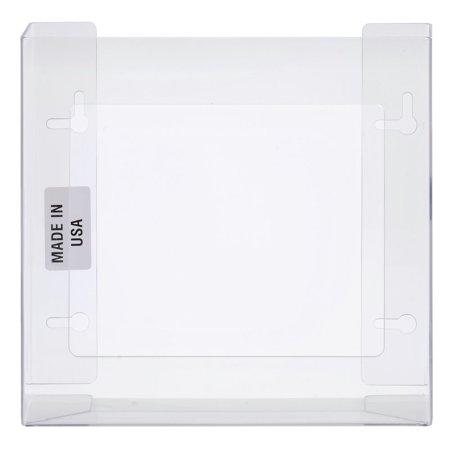 HUBERT� Clear Plastic 2-Box Disposable Glove Dispenser - 10 1/2