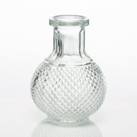 Richland Glass Bud Vase Round Perfume Bottle Set of 36 for $<!---->