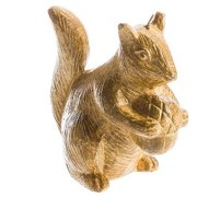 Squirrel Shaped Christmas Candle
