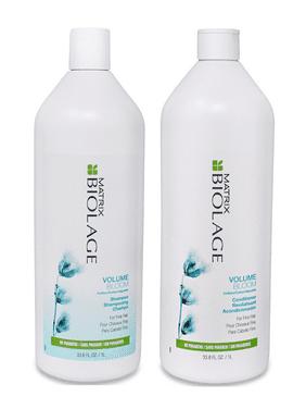 ($58 Value) Matrix Biolage VolumeBloom Shampoo & Conditioner Duo Liter Set, 33.8 Oz
