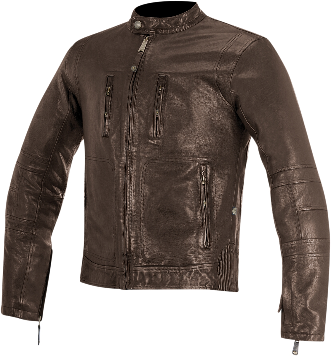 Alpinestars Brass Leather Jacket Brown XL  3108515-810-XL
