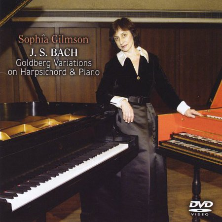J.S. Bach Goldberg Variations on Harpsichord & Pia (DVD) - Goldberg Variations Harpsichord