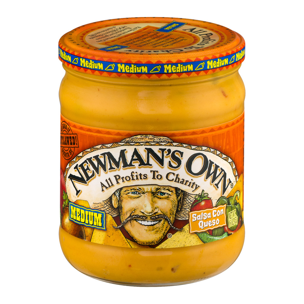 Newman's Own Salsa Con Queso Medium, 16.0 OZ