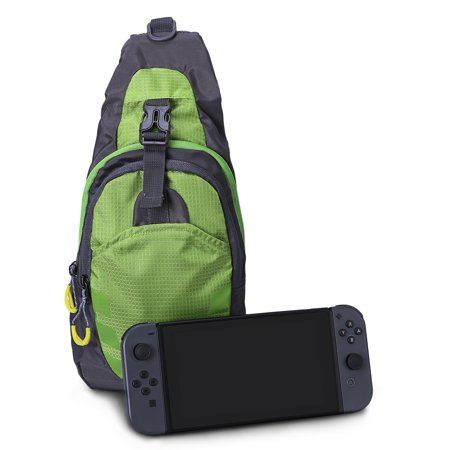 HDE Nintendo Switch Backpack Gamer Elite Crossbody Travel Bag Holds Console  Games Joy-Cons and More (Neon Green) - Walmart.com e53296d0fb0bb