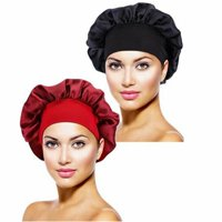 Collections Premium MICROFIBER Lined Shower Cap Hair Care Adults / Kids