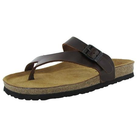 NAOT Womens Tahoe Toe Loop Slide Sandal Shoes