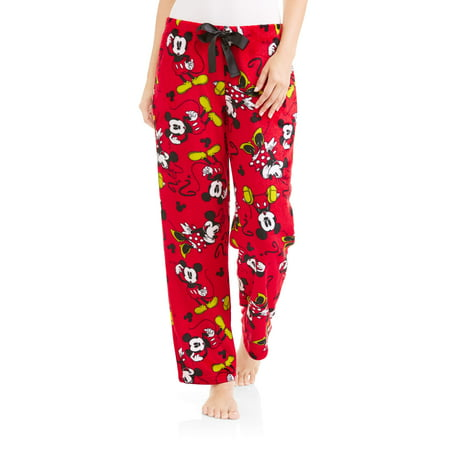 Disney Mickey Mouse and Minnie Pajama Pant for Women Minky - Mickey Mouse Pajamas